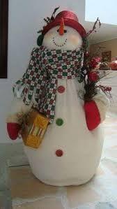Resultado de imagen para pinterest muñecos navideños