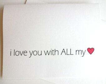 30 Dinge die ich an dir Liebe Karte Jubiläum von lilcubby auf Etsy