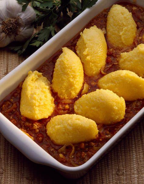 Tocăniţă de vinete cu mămăliguţă - Retete culinare - Romanesti si din Bucataria internationala