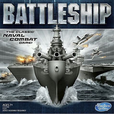Buy MB Games Battleships Game Online at johnlewis.com