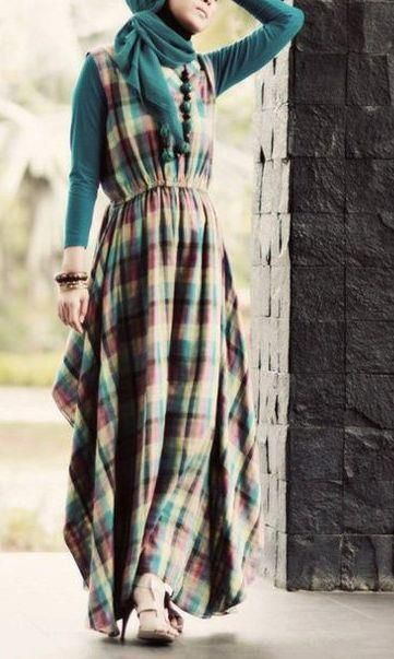 HIJAB FASHION love this dress
