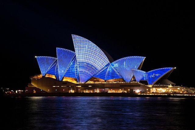 Sydney Opera House for the Vivid festival