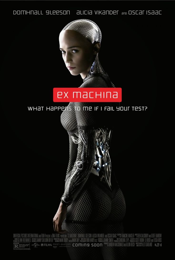Ex Machina (2015 - Directed by Alex Garland) Starring Domhnall Gleeson, Oscar Isaac and Alicia Vikander. A young programmer is selected to participate in a breakthrough experiment in artificial intelligence by evaluating the human qualities of a breathtaking female A.I.