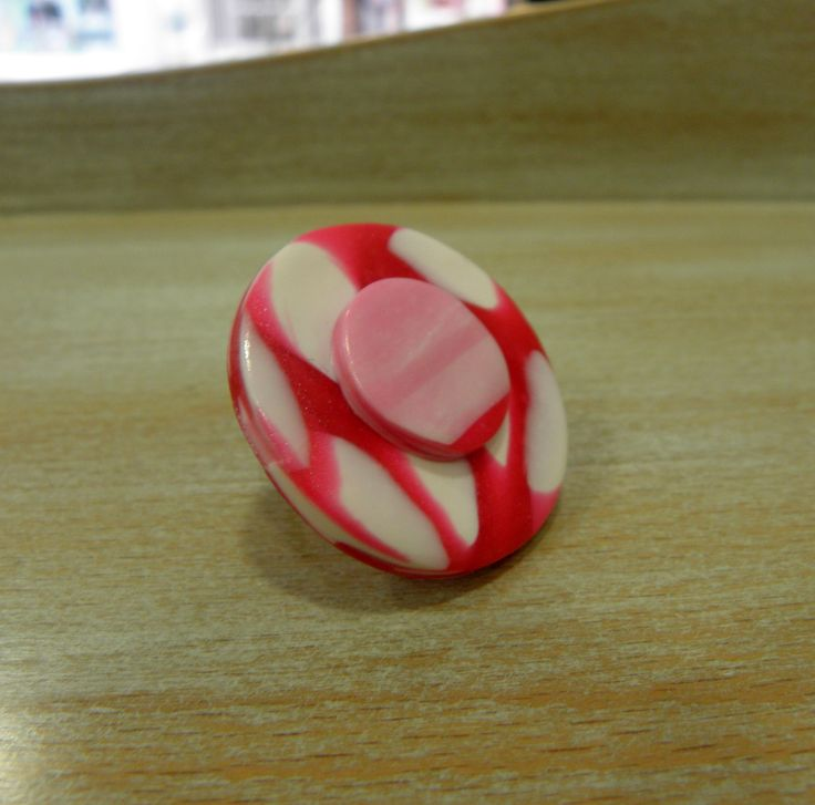 polymer clay ring!