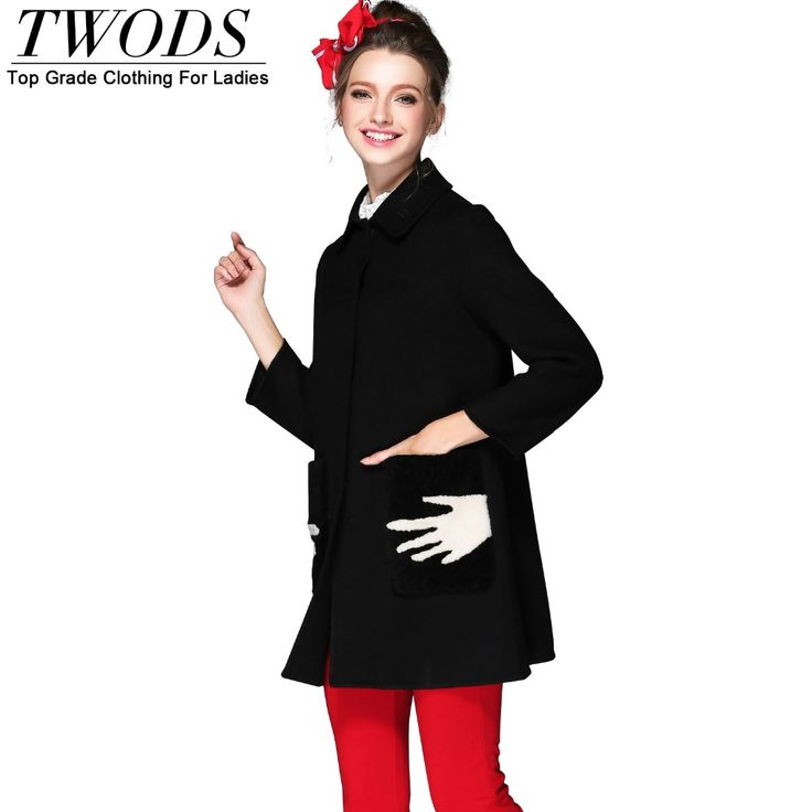 S- 5xl Hands Print Twin Pockets Wool Coat Black Overcoat Manteau Femme Casaco Feminino Great, huh? http://www.artifashion.net/product/s-5xl-hands-print-twin-pockets-wool-coat-black-overcoat-manteau-femme-casaco-feminino/ #shop #beauty #Woman's fashion #Products