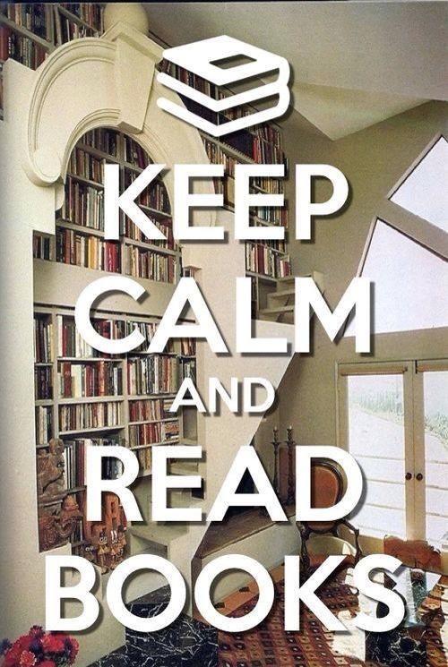 Reste calme et lit des livres. :)