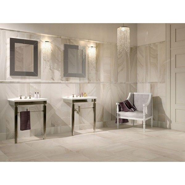 Ceramic Bathroom Tiles Handmade In Italy: Love This Bathroom Featuring Agata Bianco Italian
