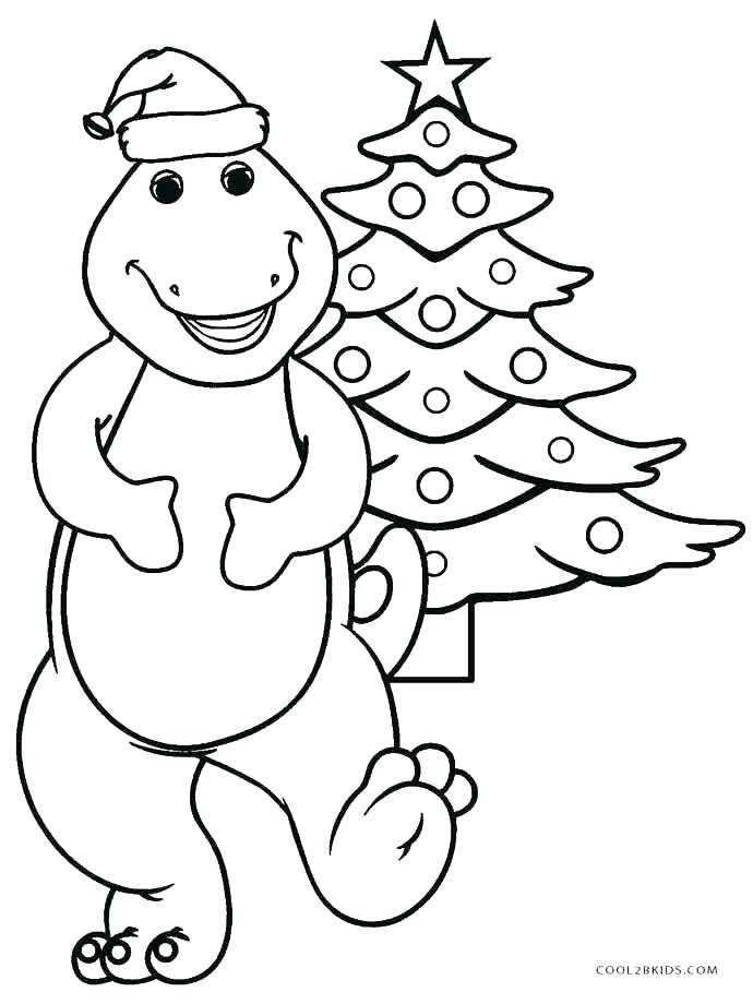 Barney Coloring Pages To Print Barney Pictures To Color Barney ...