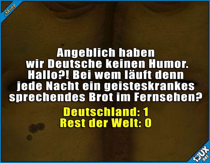 Der Punkt geht an uns! #Deutsch #Deutschland #BernddasBrot #isso #lustig #Humor