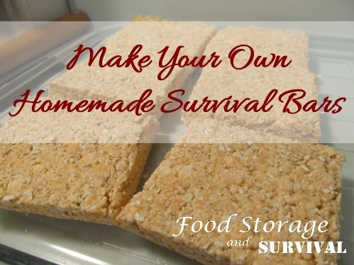 You may remember that almost five years ago we made these homemade survival bars.  With approximately 2000 calories total, low cost, and long shelf life, these are a fantastic addition to your vehi...