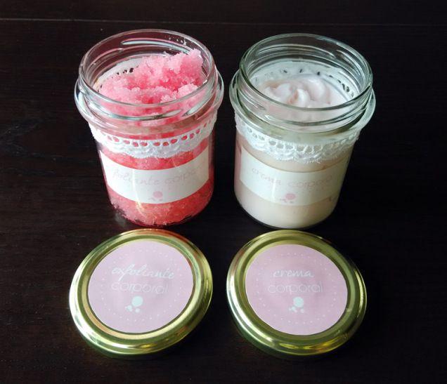 Exfoliante y crema corporal DIY