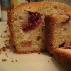 A sweet bread with chopped plums and a brown sugar topping is a delicious way to celebrate plum season.
