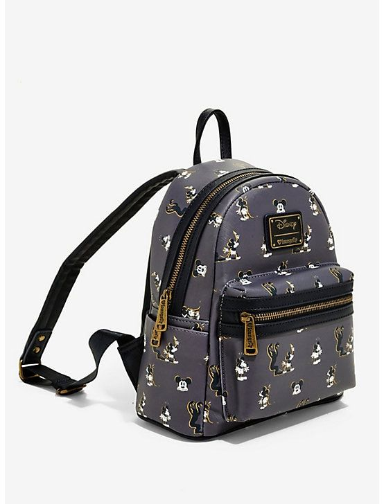 43e32570a7 Loungefly Mickey Mouse Spooked Mini Backpack - BoxLunch Exclusive ...
