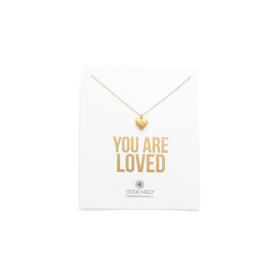 #Dogeared 'You Are Loved' Necklace #Valentines