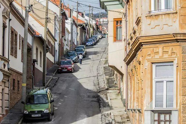 Street in Pécs