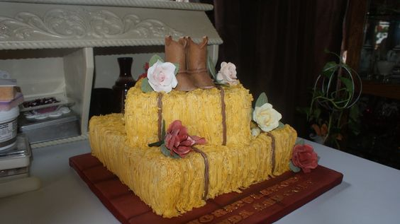 Western Bridal Shower Food | Country Bridal Shower Cake - by ...