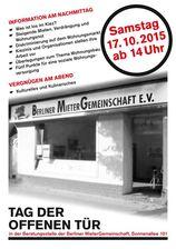 Berliner MieterGemeinschaft, Mieterverein- Berliner MieterGemeinschaft e.V.