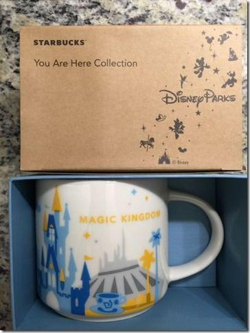 Magic Kindom, Epcot And Other Disney Starbucks Merchandise Available For Order!
