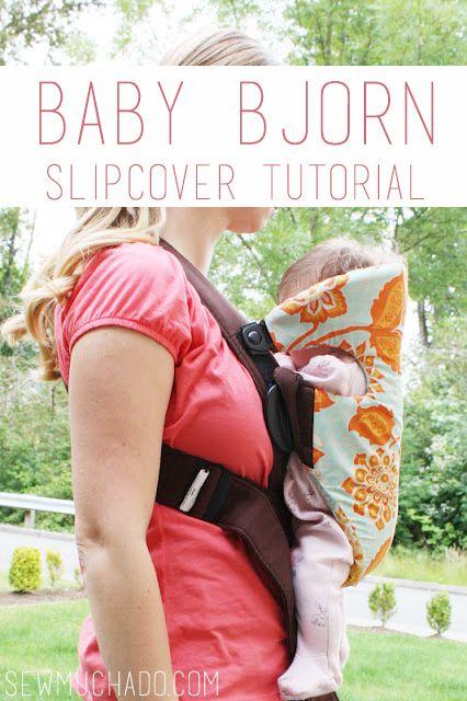 Baby Bjorn Slip Cover Tutorial - Sew Much Ado