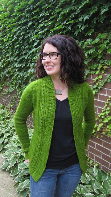 Ravelry: Minette Cardigan pattern by Kristen Rengren