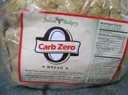 Zero carb bread isn't exactly zero carb. However it's net carbs are zero. Learn about net carbs here www.insideoutwell...