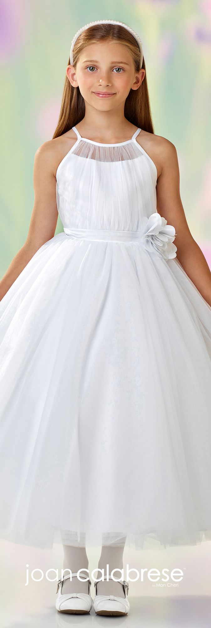 Mikado Flower Girl Dress