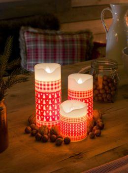LED-#Kerzen: begeisterndes #Licht zur #Weihnachtszeit ! Keine Brandgefahr, keine Wachsflecken, keine abgebrannten Kerzenstummel. Jetzt viele Ideen kennenlernen im Blog von Lampenwelt.de!