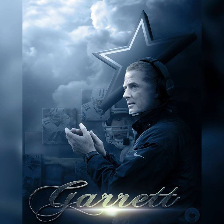 Coach Garrett (created by Mario Aguilar~Official contributor to the Dallas Cowboys)
