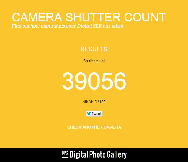 Shutter Count Kamera - Shutter count kamera adalah jumlah total tombol shutter pada kamera yang telah di tekan. Secara sederhana, pengertian shutter count kamera yaitu jumlah total gambar yang telah diambil dengan menggunakan kamera. Shutter count kamera dslr sangat penting untuk ketahui dan dipahami, terutama bagi mereka yang baru dan masih 'belajar fotografi pemula' seperti saya di mana seringkali bereksperimen dengan kamera.