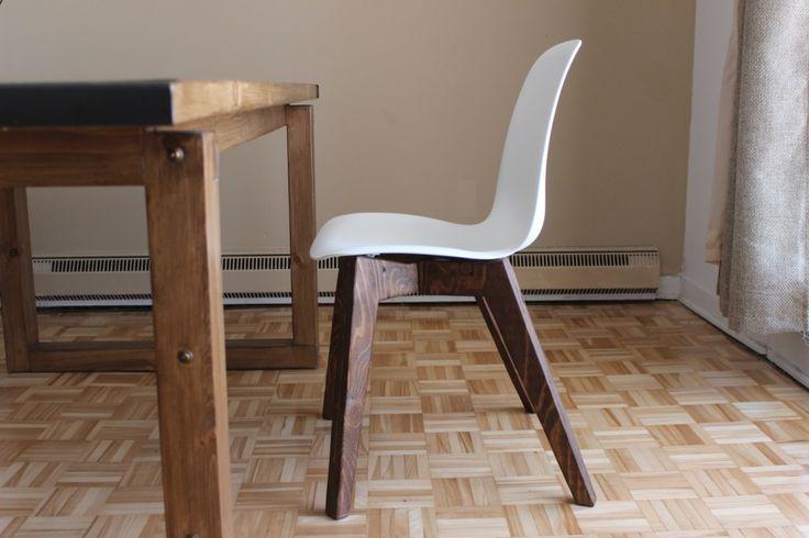 Faire une chaise scandinave meubles fabriquer diy for Fabriquer une chaise
