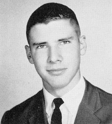 Harrison Ford, Senior Year at Maine East High School, Park Ridge, Illinois (1960)