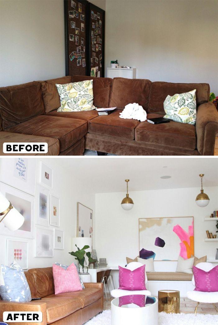 ▷ 1001 + Ideen für moderne Wohnzimmer Landhausstil Einrichtung - wohnzimmer neu gestalten ideen