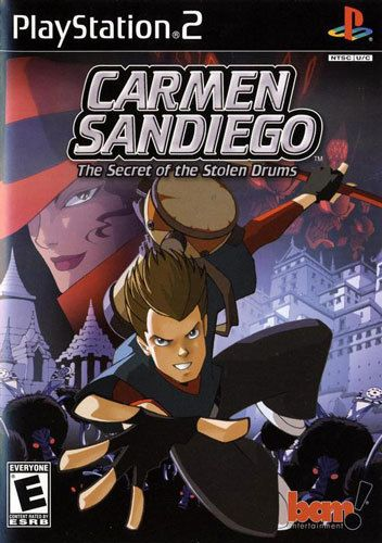 Carmen Sandiego The Secret of the Stolen Drums - PS2 Game
