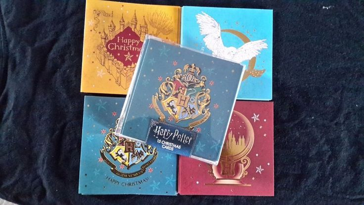 Harry Potter Christmas Cards Primark - brand new in packet
