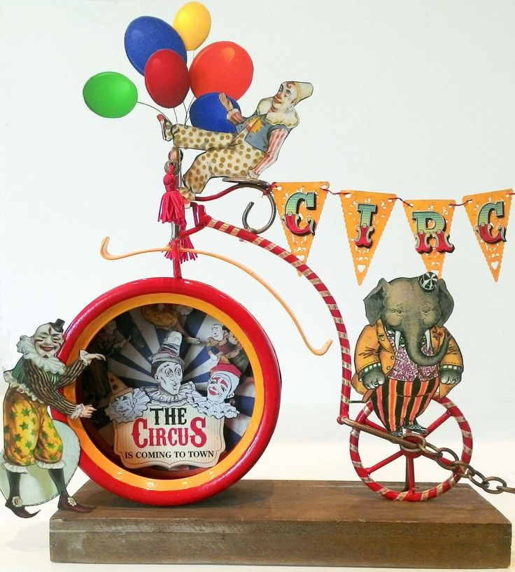 Artfully Musing: THE CIRCUS COMES TO TOWN – NEW Clowning Around Collage Sheet & FREE Circus Collage Sheet