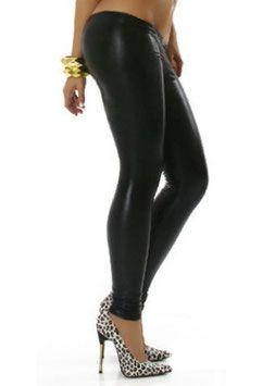 Een sexy zwart kleurige metallic legging in een zeer elegante stijl. De legging heeft een fijne draagcomfort en geeft u mooi gevormde benen. #kadehandel #trendyleggingsfashion #leggings #metallicstijl #zwart