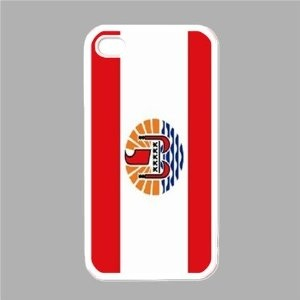 French Polynesia Flag White iPhone 5 Case --- http://yupurl.com/7gby39