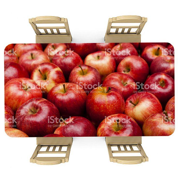 Tafelsticker Appels | Maak je tafel persoonlijk met een fraaie sticker. De stickers zijn zowel mat als glanzend verkrijgbaar. Geschikt voor binnen EN buiten! #tafel #sticker #tafelsticker #uniek #persoonlijk #interieur #huisdecoratie #diy #persoonlijk #appels #appel #rood #fruit #vrucht #gezond #eten #voedsel