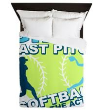 Softball Bedding | Fastpitch Softball Bedroom & Bedding