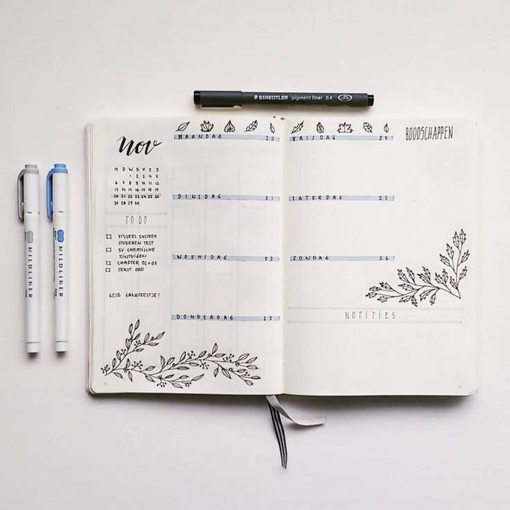 And here an other picture of my weekly spread I al…