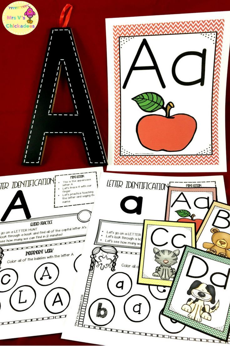 RTI Letter Identification Pack