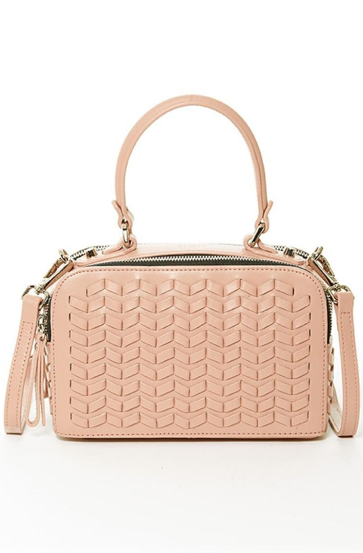 Expertly crafted from Italian leather and accented with a beautiful leather  weave on its front and 757526be4326b