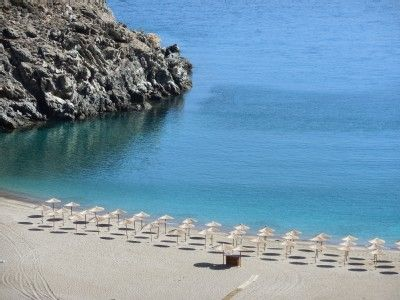 Zorkos beach, Andros Greece Swam here at this beach in 2007 and 2010. Bring your snorkel gear! It is beautiful.