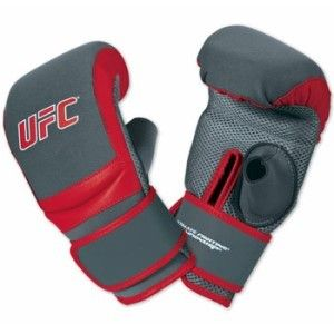 UFC MMA Washable Bag Gloves - Gloves features a cushioned grip bar beneath curved knuckles that promote correct fist formation with wrap-around wrist strap for added support. http://www.karatesupply.com/UFC-MMA-Washable-Bag-Gloves_p_2026.html #baggloves #punchingbaggloves #mmabaggloves