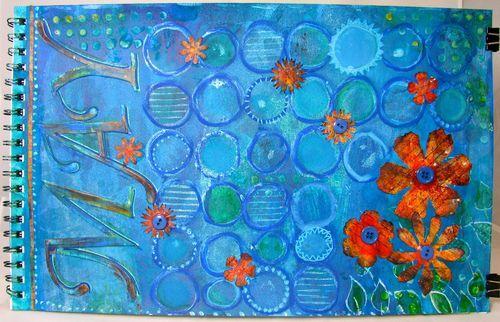 Marjie Kemper 2012 calendar - The Kathryn Wheel project
