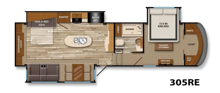 Best Fifth Wheel Floorplans Images Pinterest Wheels Life And