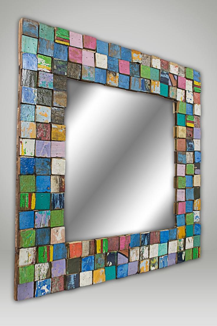 Mosaic mirror--love it!