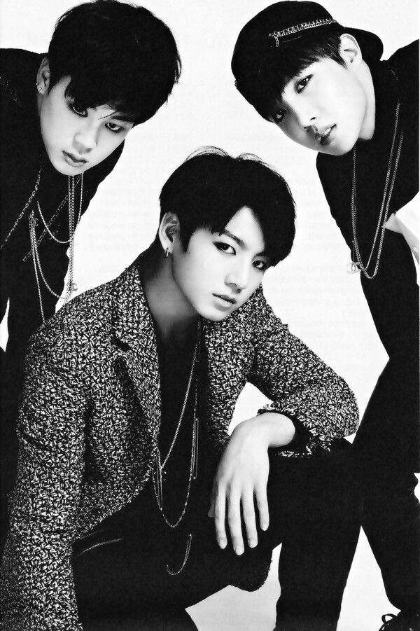 BTS / Bangtan Boys , Park Jimin , Jungkook , J-Hope