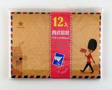 Mini Envelopes London (Guard)  - available at www.stationeryheaven.nl