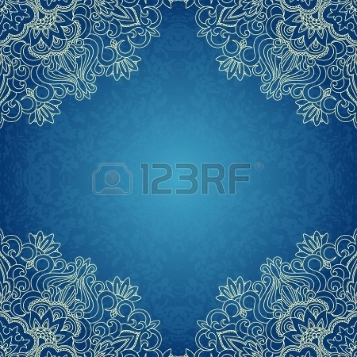 Vector Illustration With Vintage Pattern For Print. Royalty Free Cliparts, Vectors, And Stock Illustration. Pic 16399936.